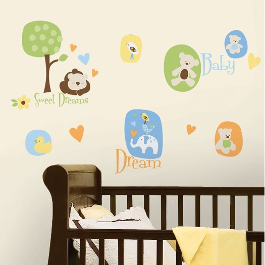 Room Mates Modern Baby Wall Decal