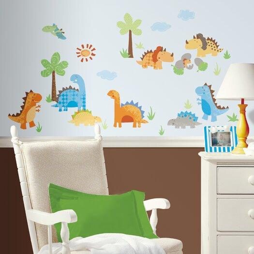 Room Mates Babysaurus Wall Decal