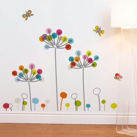 Room Mates Mia & Co Buttercups Wall Decal