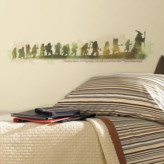 Room Mates Peel & Stick Giant Wall Decals/Wall Stickers The Hobbit Quote Wall Decal