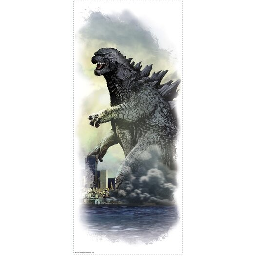 Room Mates Godzilla City Wall Graphix Wall Decal