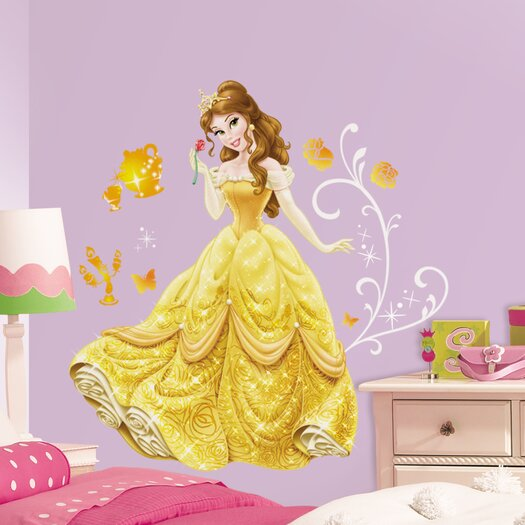 Room Mates Disney Princess Belle Giant Wall Decal
