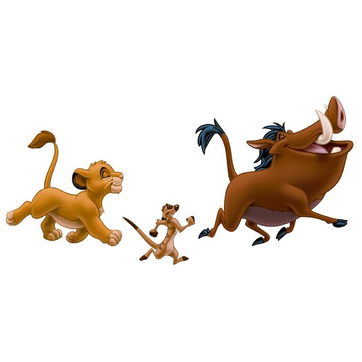 Room Mates The Lion King Giant Wall Decal Set