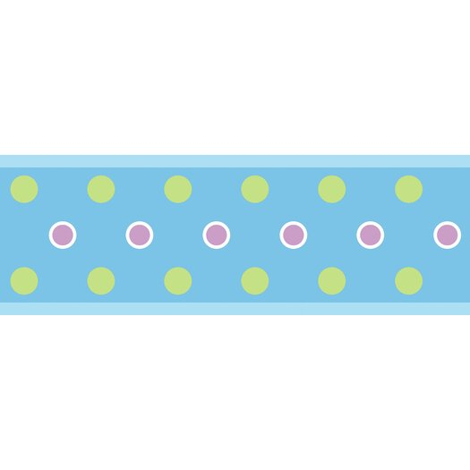 Room Mates Studio Designs Polka Dot Wallpaper Border