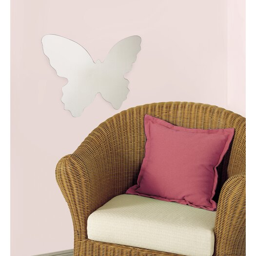 Room Mates Wall Mirrors Butterfly Large Wall Decal
