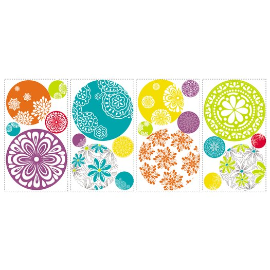 Room Mates Room Mates Deco 20 Piece Patterned Dots Wall Decal