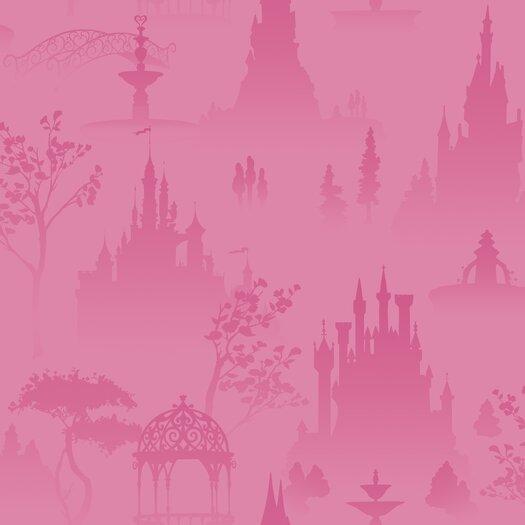 Room Mates Scenic Princess Toile Wallpaper