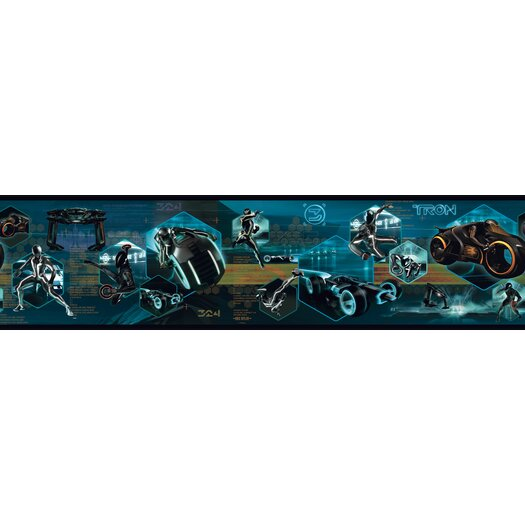 Room Mates Tron Legacy Figural Wallpaper Border