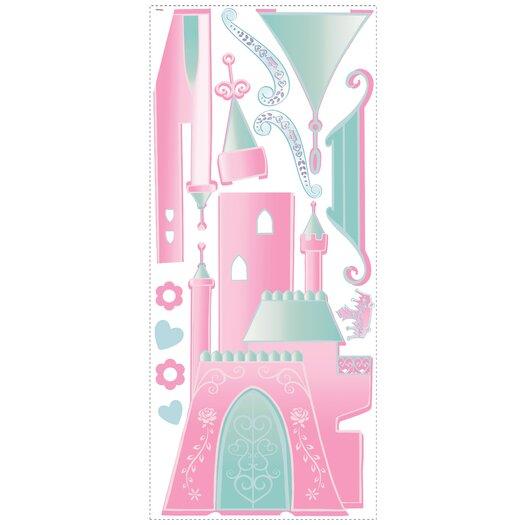 Room Mates Disney Princess Castle Giant Wall Decal
