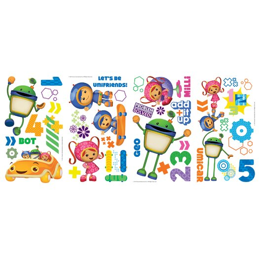 Room Mates Team Umizoomi Wall Decal
