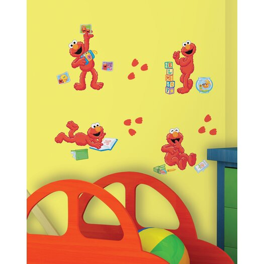 Room Mates Sesame Street ElmoCentric Wall Decal