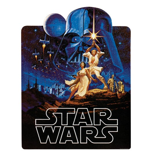 Room Mates Peel & Stick Giant Wall Decals/Wall Stickers Star Wars Classic Collage Wall Decal