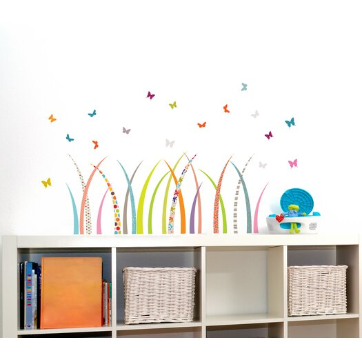 Room Mates Mia & Co Meadow Wall Decal