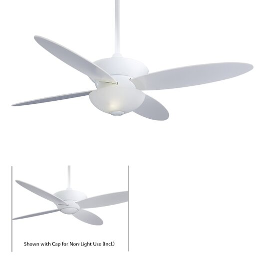 """Minka Aire 52"""" Zen 4 Blade Ceiling Fan with Remote"""