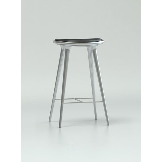 """Mater Ethical Living 26"""" High Bar Stool with Cushion"""