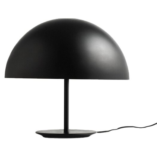 "Mater Dome 15"" H Table Lamp with Bowl Shade"