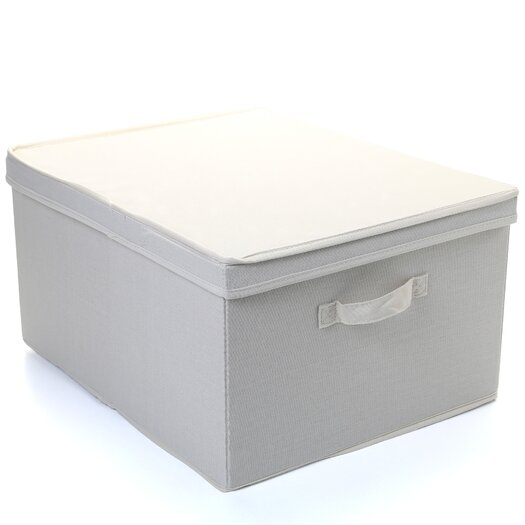 "Household Essentials Storage and Organization 10"" Jumbo Storage Box"