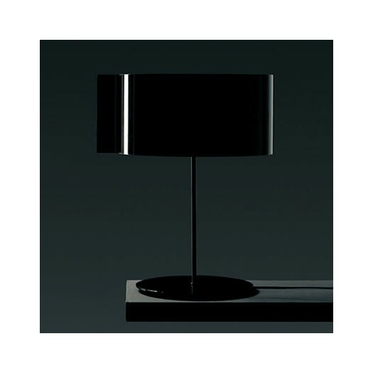 """Oluce Switch 21.6"""" H Table Lamp with Oval Shade"""