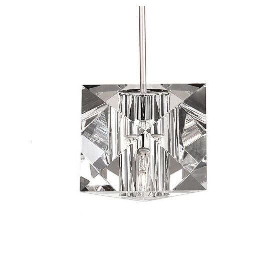 WAC Lighting Crystal Prisma Quick Connect Monopoint Pendant