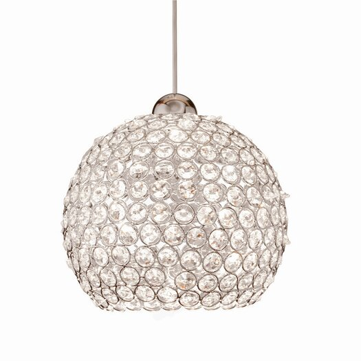 WAC Lighting Crystal Roxy Quick Connect Pendant