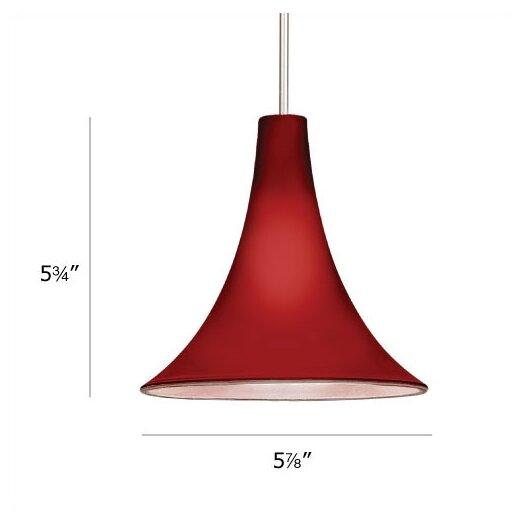 WAC Lighting European Pome 1 Light Mini Pendant