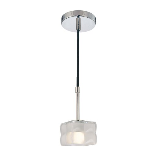 George Kovacs by Minka Squared 1 Light Pendant