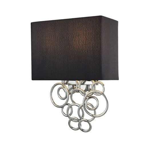 George Kovacs by Minka Ringlets 2 Light Wall Sconce