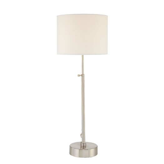 """George Kovacs by Minka 25.5"""" H Table Lamp with Drum Shade"""