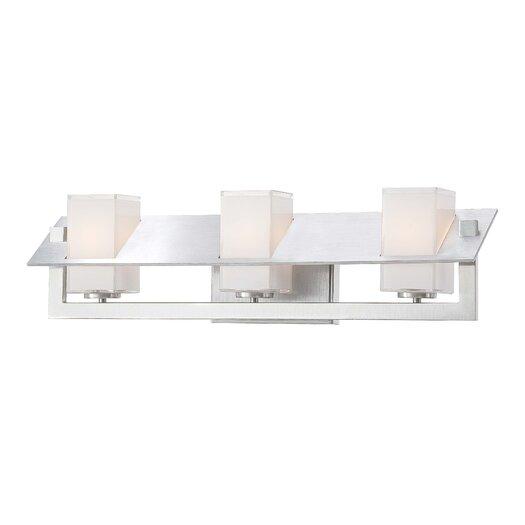 George Kovacs by Minka Tilt 3 Light Bath Vanity Light