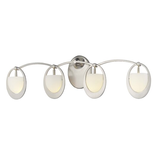 George Kovacs by Minka Earring 4 Light Vanity Light