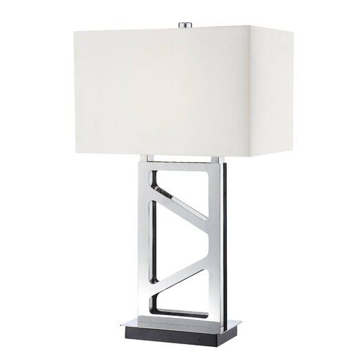"George Kovacs by Minka 1 Light 29.5"" H Table Lamp with Rectangular Shade"