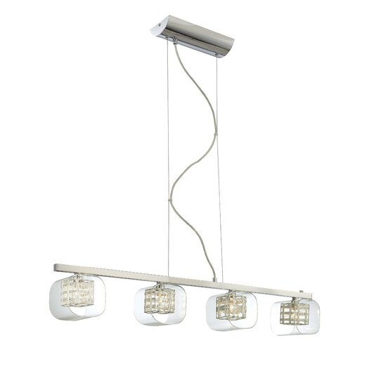 George Kovacs by Minka Jewel Box 4 Light Kitchen Island Pendant
