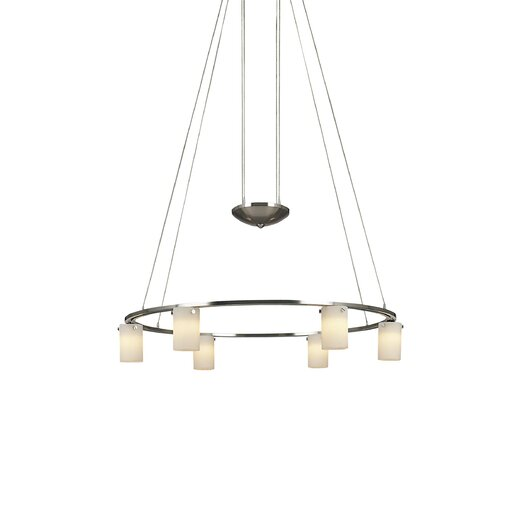 George Kovacs by Minka Counter Weights 6 Light Counter Weight Chandelier