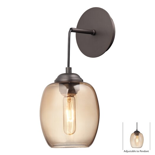 George Kovacs by Minka Bubble 1 Light Wall Sconce/Pendant
