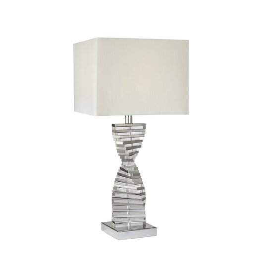 "George Kovacs by Minka Modern Flair 27"" H Table Lamp with Square Shade"