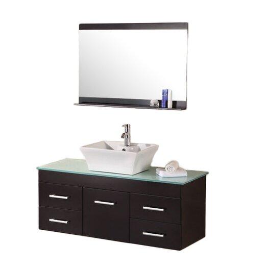 "Design Element Madrid 48"" Vanity Set with Single Sink"