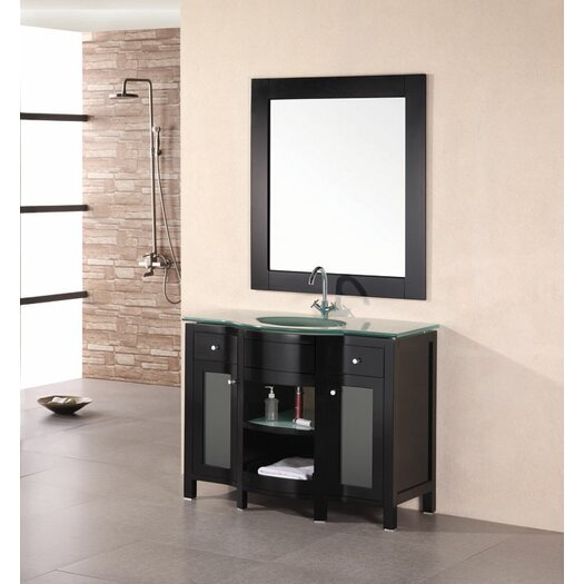 "Design Element Rome 43"" Single Sink Vanity Set"