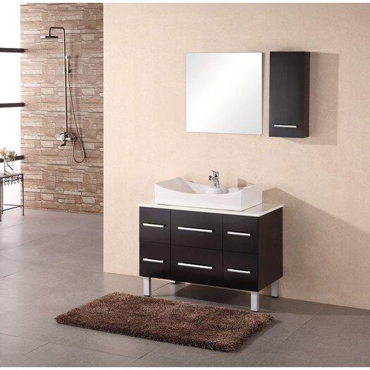 "Design Element Paris 36"" Single Sink Vanity Set"