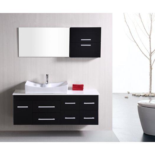 "Design Element Picks 55"" Springfield Vanity Set with Single Sink"