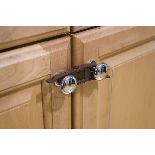 Rhoost Sling Cabinet Closure in Brown (Pack of 4)