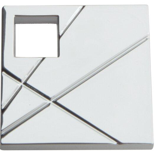 """Atlas Homewares Modernist 1.5"""" Square Knob"""