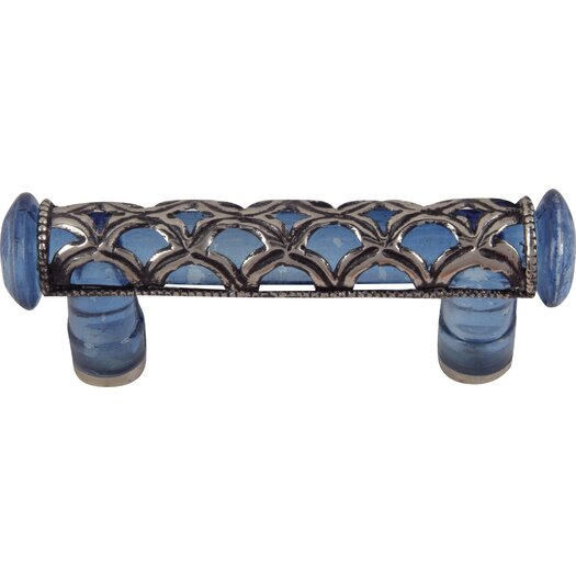 "Atlas Homewares Tangeres Glass 4.5"" Bar Pull"
