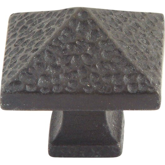 "Atlas Homewares Craftsman 1.25"" Square Knob"