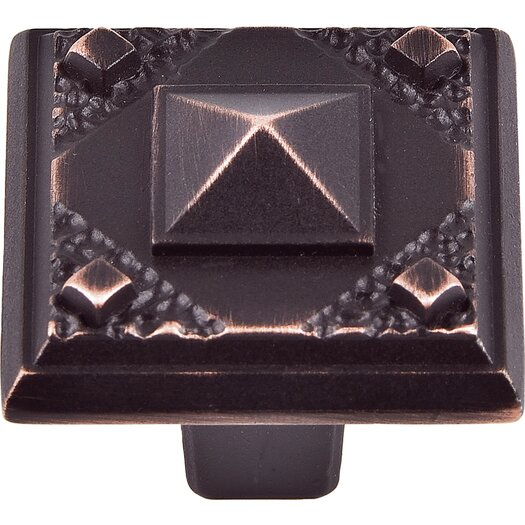 "Atlas Homewares Craftsman 1.5"" Square Knob"