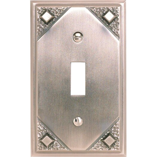 Atlas Homewares Craftsman 1 Toggle Wall Plate 4.5""