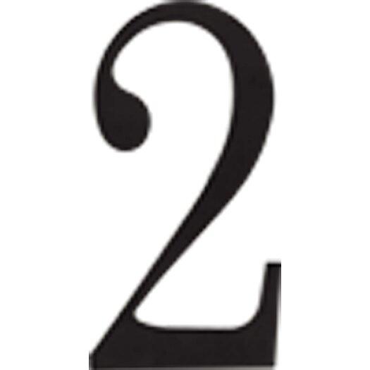 "Atlas Homewares Traditionalist 6"" House Number"