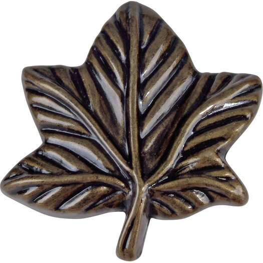 "Atlas Homewares Leaf 2.25"" Novelty Knob"