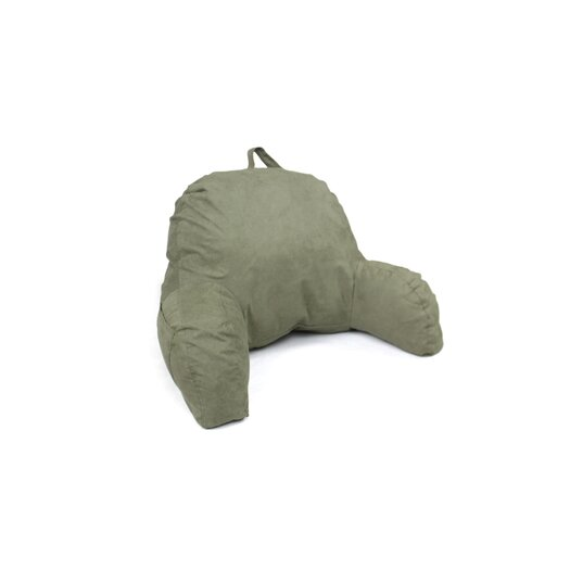 Deluxe Comfort Microsuede Reading Bed Rest Pillow