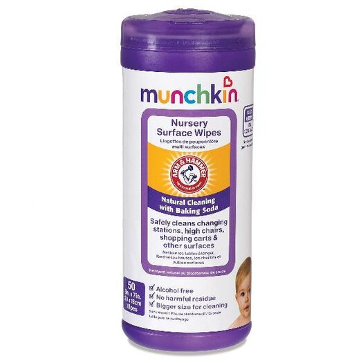 Munchkin Arm and Hammer Nursery Surface Wipes