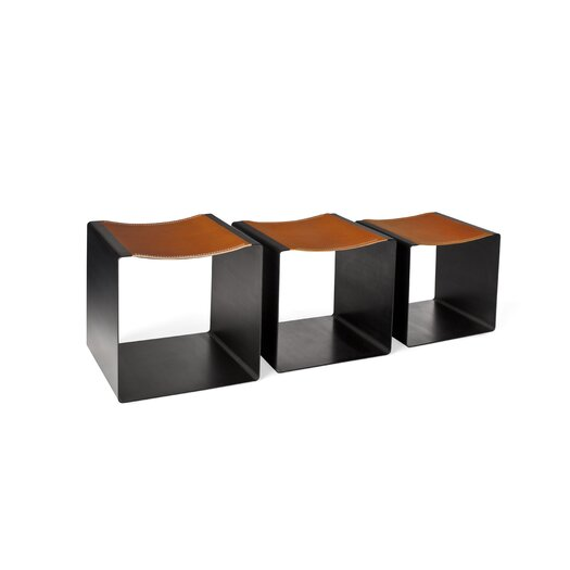 Miles & May 3 Piece Flex Accent Nesting Stools